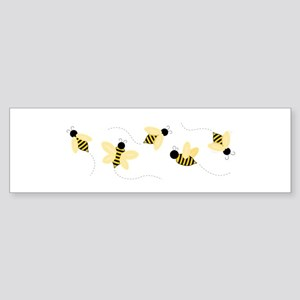 Bumble Bees Bumper Sticker