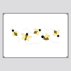 Bumble Bees Banner
