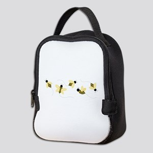 Bumble Bees Neoprene Lunch Bag