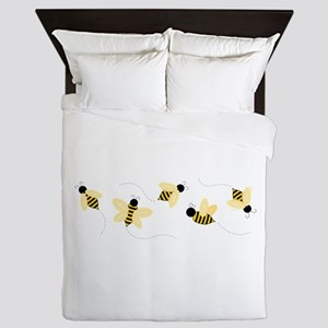 Bumble Bees Queen Duvet