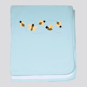 Bumble Bees baby blanket