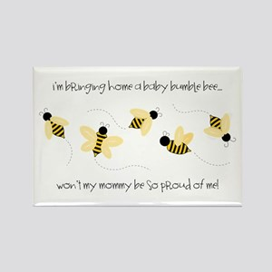 Baby Bumble Bee Magnets