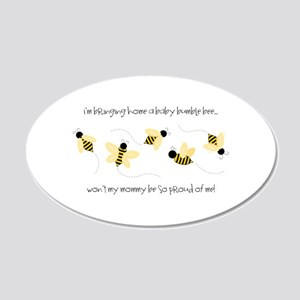 Baby Bumble Bee Wall Decal