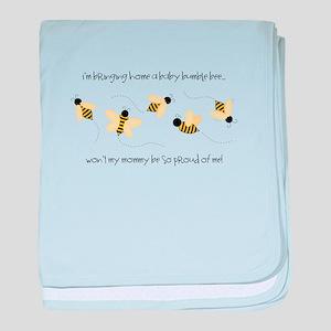 Baby Bumble Bee baby blanket