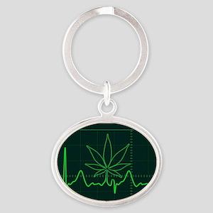 Canna Heartbeat Keychains