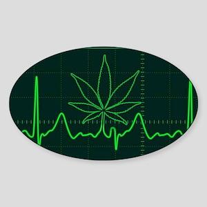 Canna Heartbeat Sticker