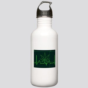 Canna Heartbeat Water Bottle