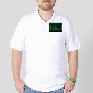 Canna Heartbeat Golf Shirt