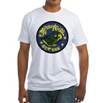 USS HAWKBILL Fitted T-Shirt