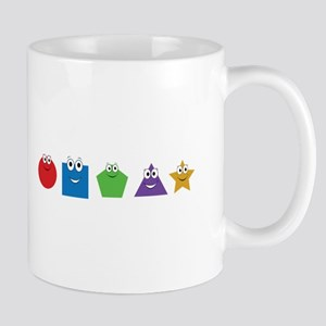 Shapes and Colors Mugs