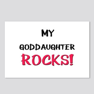 My GODDAUGHTER ROCKS! Postcards (Package of 8)