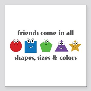 """Learning Friends Square Car Magnet 3"""" x 3"""""""