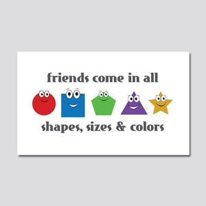 Learning Friends Car Magnet 20 x 12