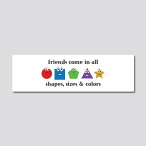 Learning Friends Car Magnet 10 x 3