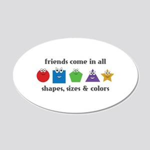 Learning Friends Wall Decal