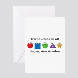 Learning Friends Greeting Cards