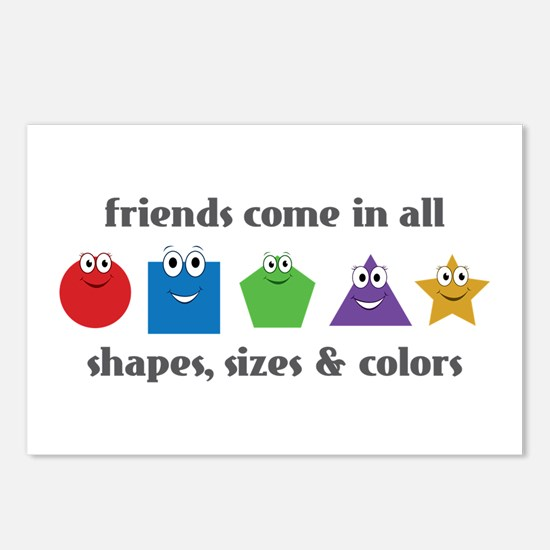 Learning Friends Postcards (Package of 8)