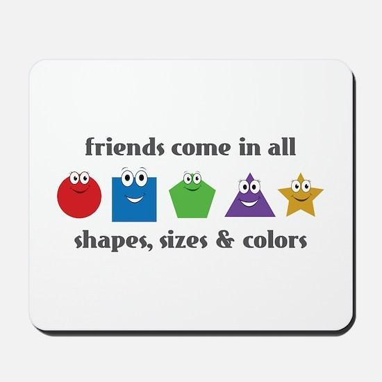 Learning Friends Mousepad