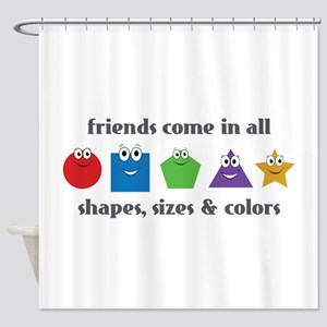Learning Friends Shower Curtain