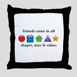 Learning Friends Throw Pillow