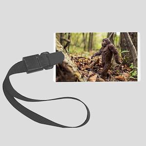 Bigfoot Luggage Tag