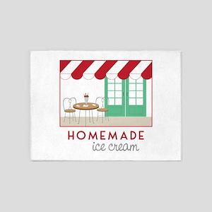 Home Made Ice Cream 5'x7'Area Rug