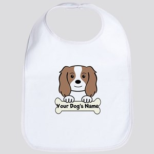 Personalized Cavalier Cotton Baby Bib
