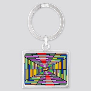 Abstract Depth Keychains