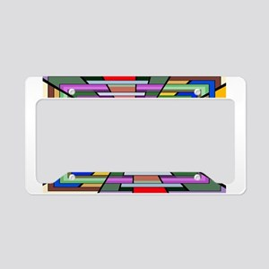 Abstract Depth License Plate Holder