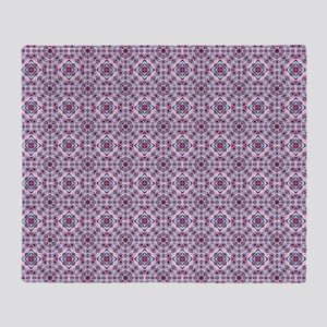 Elegant Abstract Pattern Throw Blanket