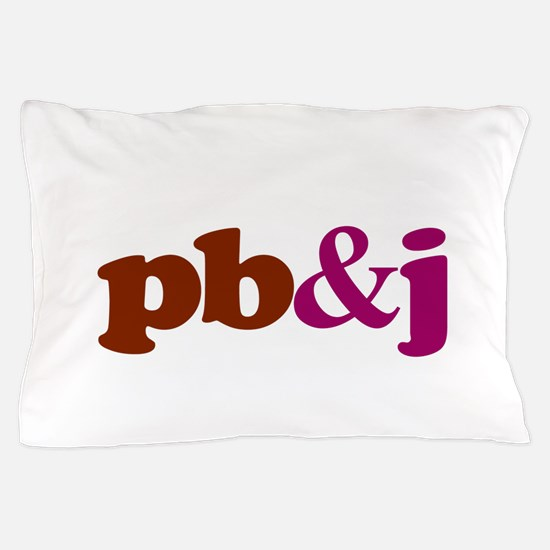 pb and j Pillow Case