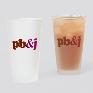 pb and j Drinking Glass
