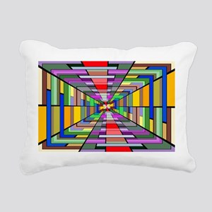Abstract Depth Rectangular Canvas Pillow