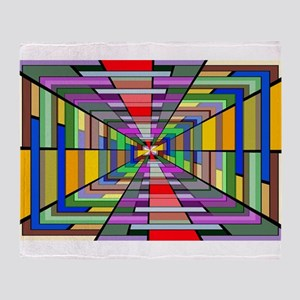 Abstract Depth Throw Blanket