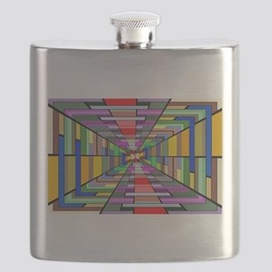 Abstract Depth Flask