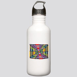 Abstract Depth Water Bottle