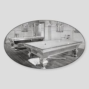 Billiards Room, 1901 Sticker