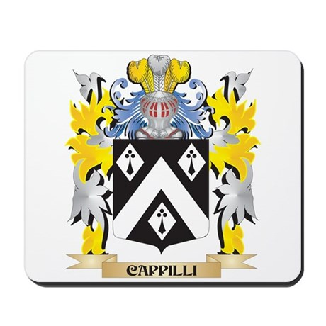 Cappilli Coat of Arms - Family Crest Mousepad