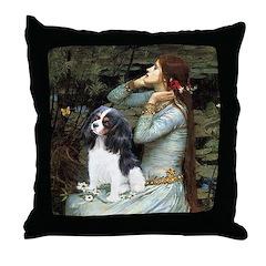 Opohelia & Tri Cavalier Throw Pillow
