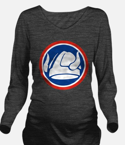 47th Infantry Division.png Long Sleeve Maternity T