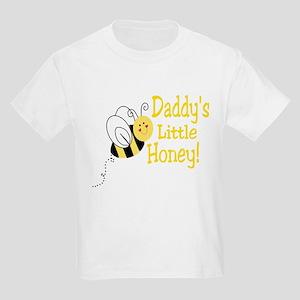 Daddy's little Honey with a b Kids Light T-Shirt