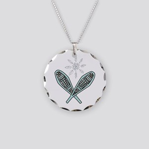 Snowshoes Necklace