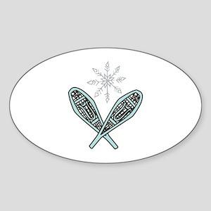 Snowshoes Sticker