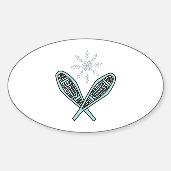 Snowshoes Decal