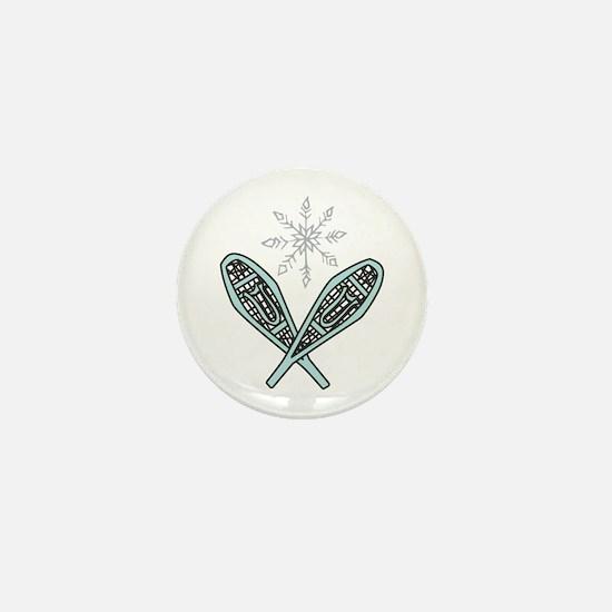 Snowshoes Mini Button (10 pack)