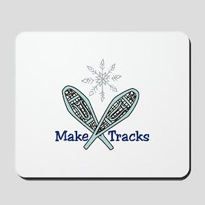 Make Tracks Mousepad