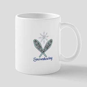 Snowshoeing Mugs