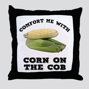 Comfort Corn On The Cob Throw Pillow