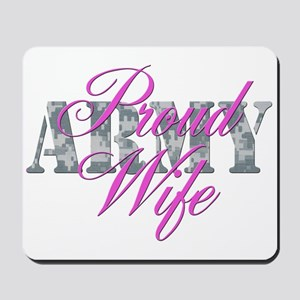 Proud Army Wife ACU Mousepad