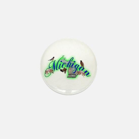 Michigan Mini Button